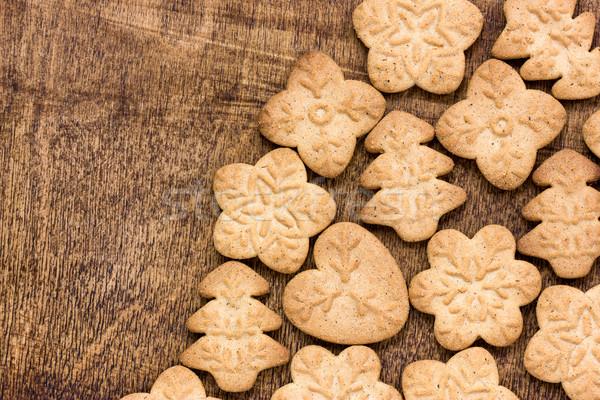 Caseiro pão de especiarias bolinhos natal Foto stock © Grazvydas