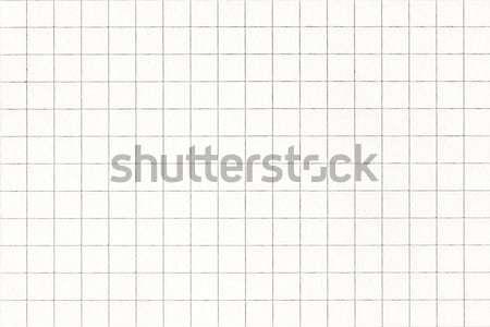 White squared paper sheet Stock photo © Grazvydas