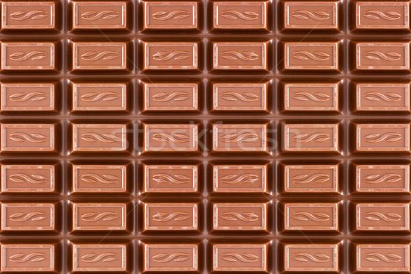 Textúra sötét barna csokoládé szelet közelkép étel Stock fotó © Grazvydas