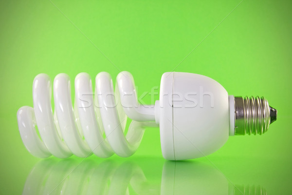 Energy efficient light bulb  Stock photo © Grazvydas