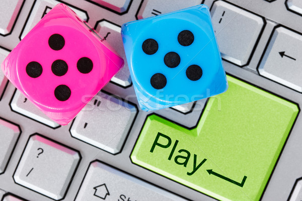 Online gaming concept Stock photo © Grazvydas