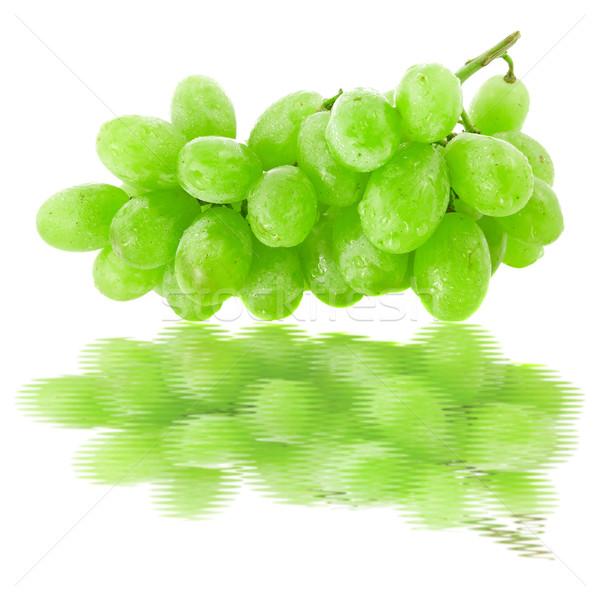 виноград воды отражение зеленый виноград фрукты Сток-фото © Grazvydas