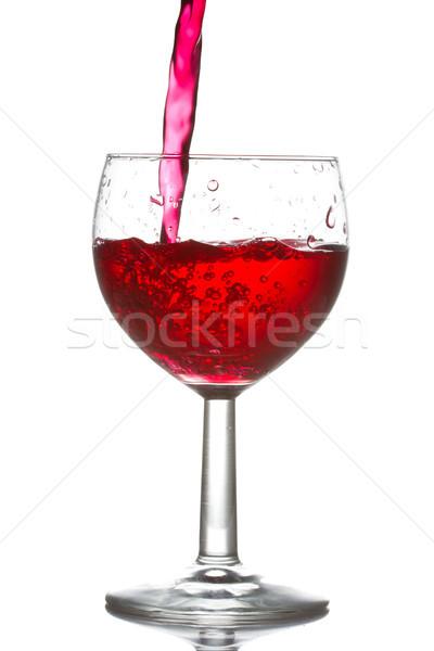 red wine pouring Stock photo © Grazvydas