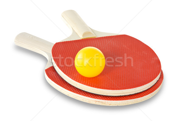 tennis rackets and ball  Stock photo © Grazvydas