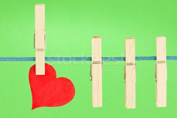 красный сердце аннотация цвета праздник Сток-фото © Grazvydas