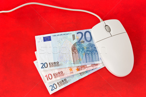 Making money online concept Stock photo © Grazvydas