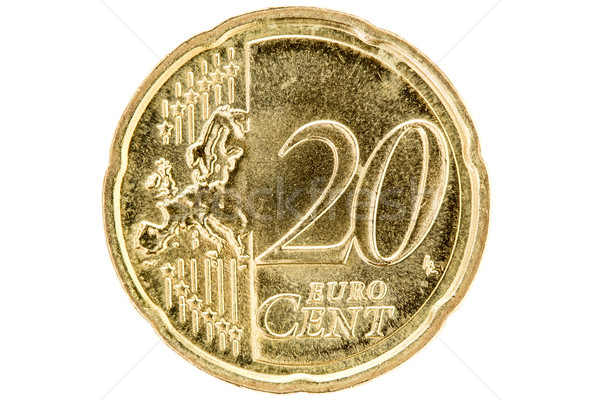 Twenty euro cent  Stock photo © Grazvydas