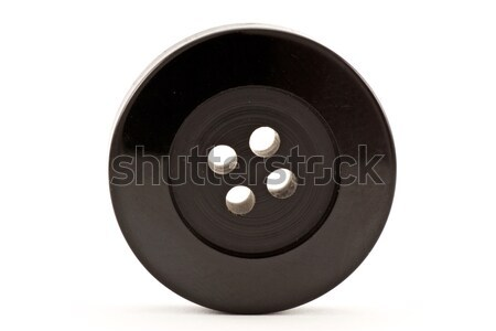 black clothes button Stock photo © Grazvydas