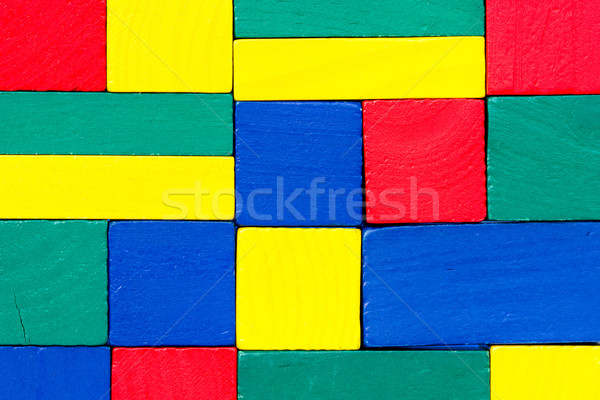 Colorful wood texture Stock photo © Grazvydas