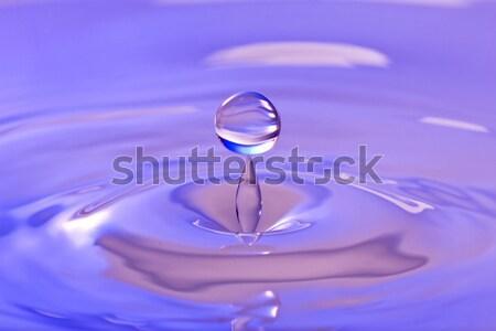 Quietude natureza pacífico água limpa salpico beleza Foto stock © Grazvydas