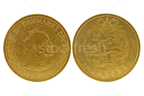 10 Danish kroner Stock photo © Grazvydas