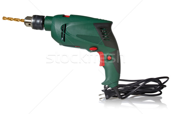Electric drill with cord Stock photo © Grazvydas