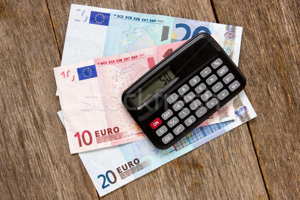 Nero mutui euro mercato Foto d'archivio © Grazvydas