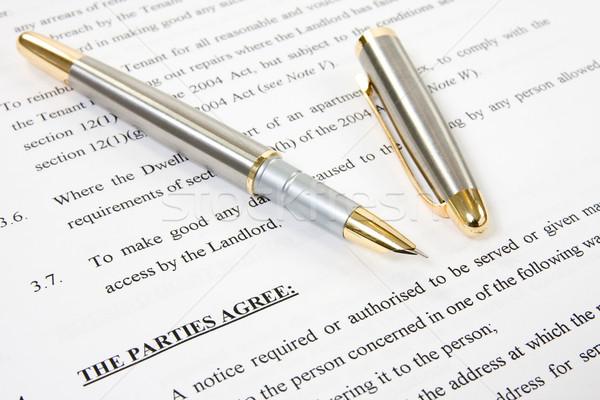 agreement between landlord and tenant Stock photo © Grazvydas