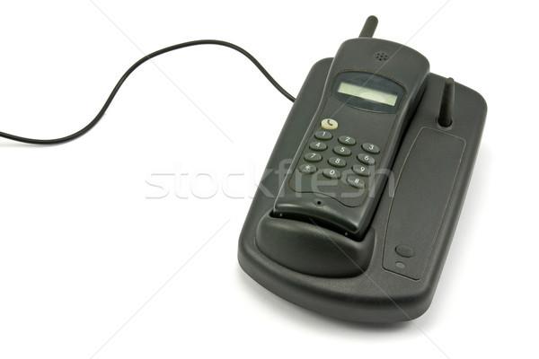 old cordless phone Stock photo © Grazvydas