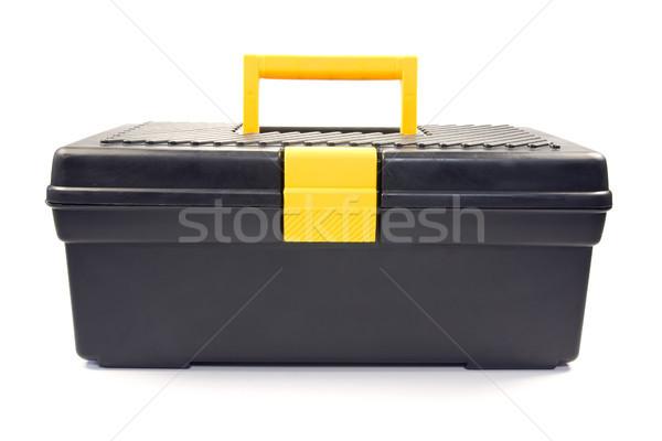 isolated black toolbox Stock photo © Grazvydas