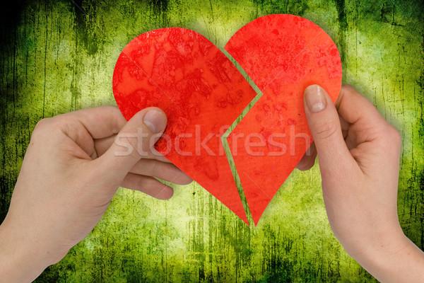love and divorce Stock photo © Grazvydas
