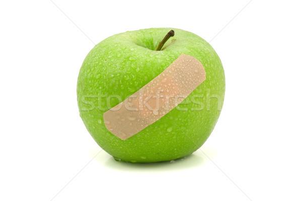 apple with plaster Stock photo © Grazvydas