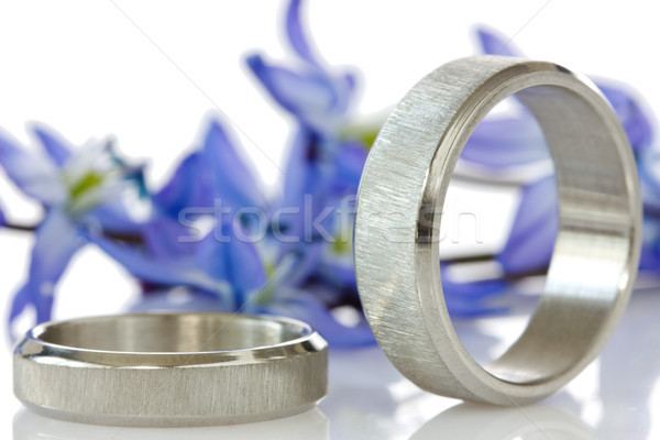 rings with flowers in the background  Stock photo © Grazvydas