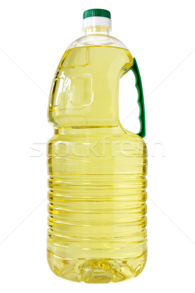 Plastic bottle of cooking oil  Stock photo © Grazvydas