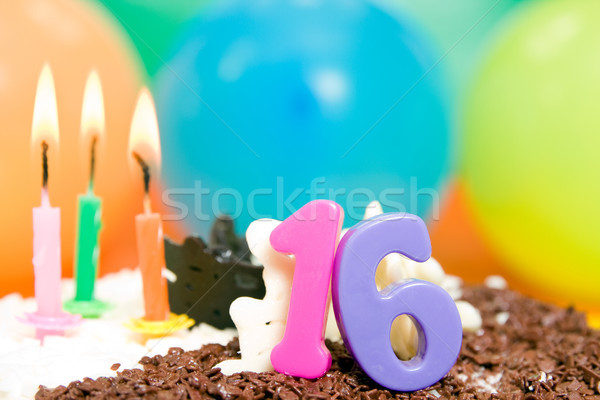 Sweet Sixteen Birthday Stock photo © Grazvydas