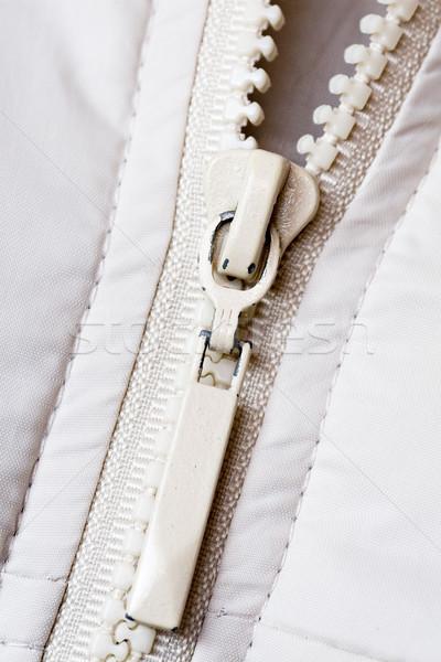 white zipper Stock photo © Grazvydas
