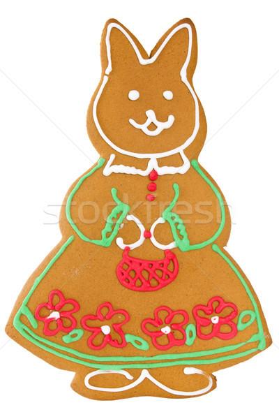 ручной работы кролик традиционный Пасху Рождества Сток-фото © Grazvydas