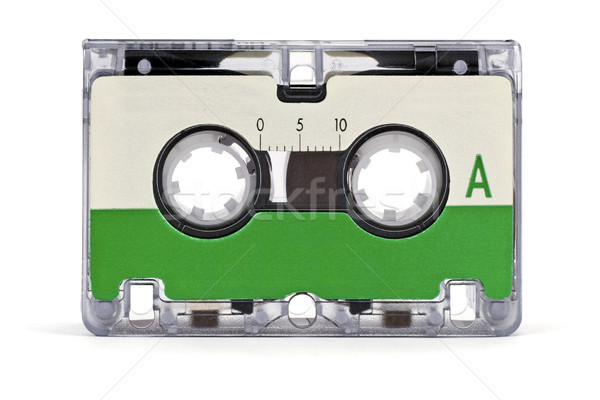 mini audio cassette Stock photo © Grazvydas