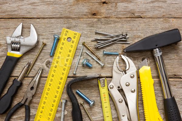 работу инструменты строительство ножом инструментом Сток-фото © Grazvydas