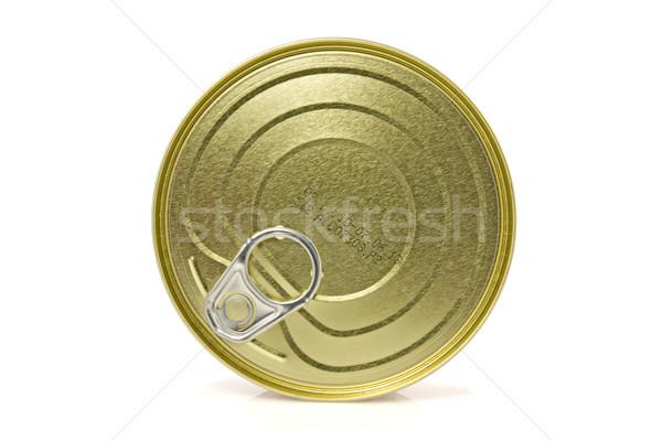 gold metal tin Stock photo © Grazvydas