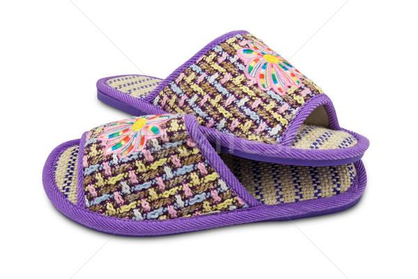 female house slippers  Stock photo © Grazvydas