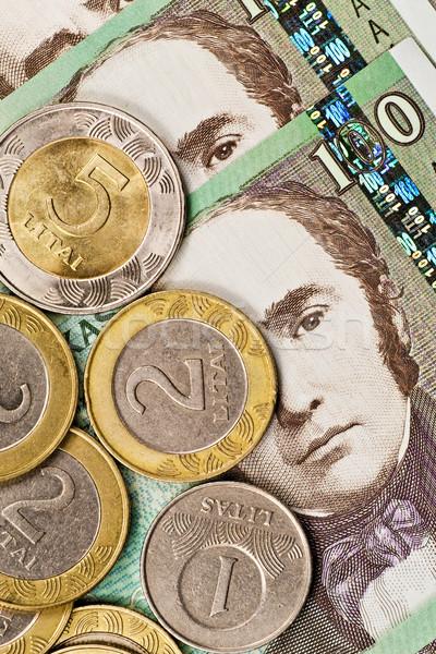 Soldi metal finanziare contanti economia Foto d'archivio © Grazvydas