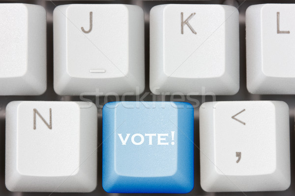 keyboard with  with vote key  Stock photo © Grazvydas