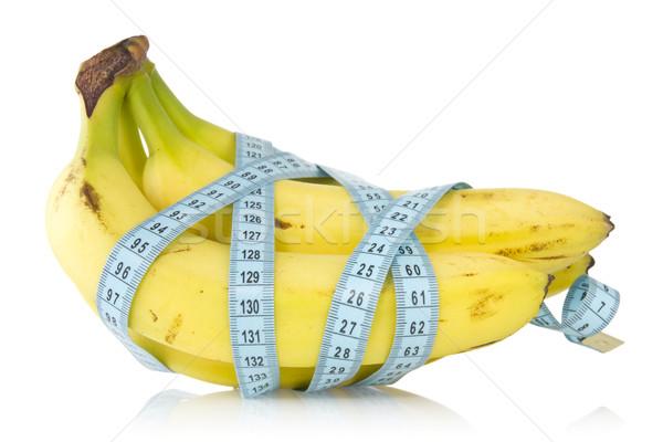 Bananów charakter owoców bananów Zdjęcia stock © Grazvydas