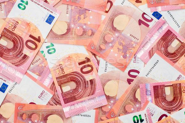 Nuovo dieci euro business carta Foto d'archivio © Grazvydas