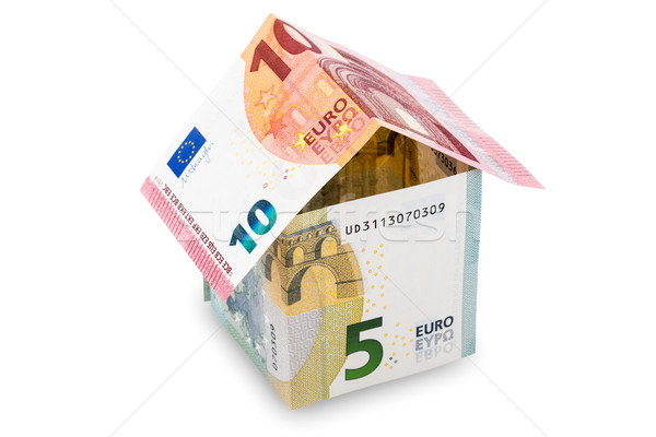House made of money on a white background Stock photo © Grazvydas