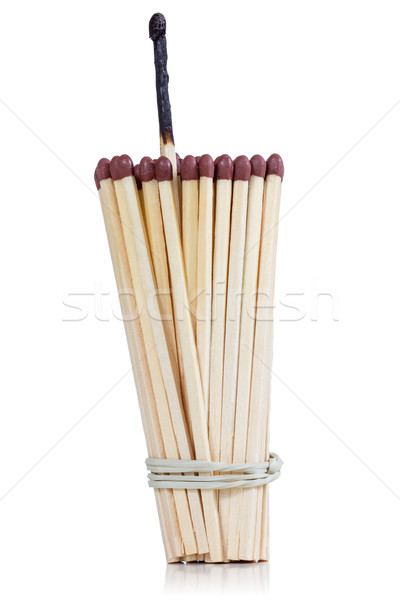Bunch of safety matches Stock photo © Grazvydas