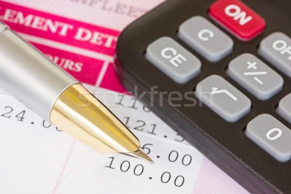 Salary calculations Stock photo © Grazvydas