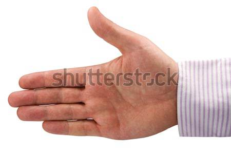 hand expressing positive sign Stock photo © Grazvydas