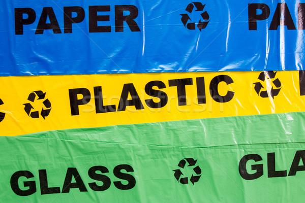 Сток-фото: пластиковых · мешки · вторичной · переработки · мусора · бизнеса · рынке