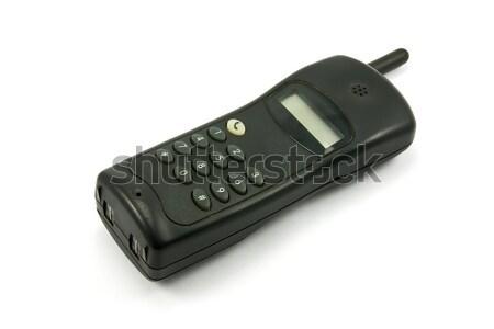 black cordless phone Stock photo © Grazvydas