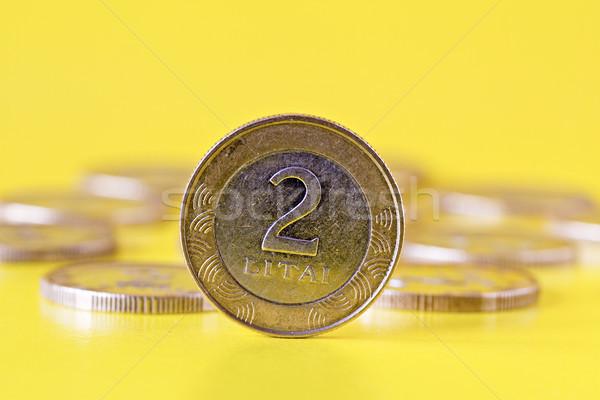 lithuanian two litas coin Stock photo © Grazvydas