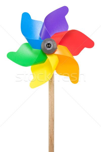 Colorful pinwheel Stock photo © Grazvydas