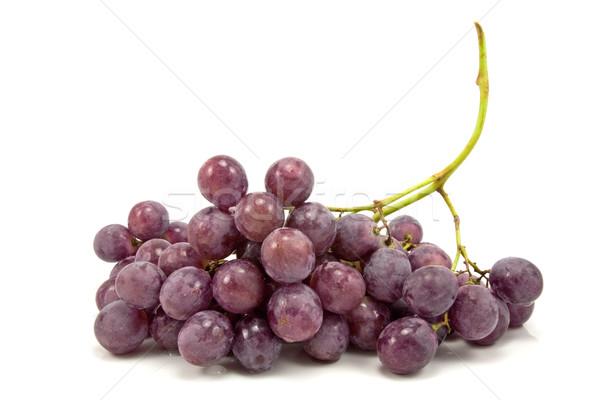 Blu uve bianco frutta estate Foto d'archivio © Grazvydas