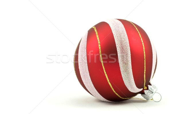 christmas ball with ornament Stock photo © Grazvydas
