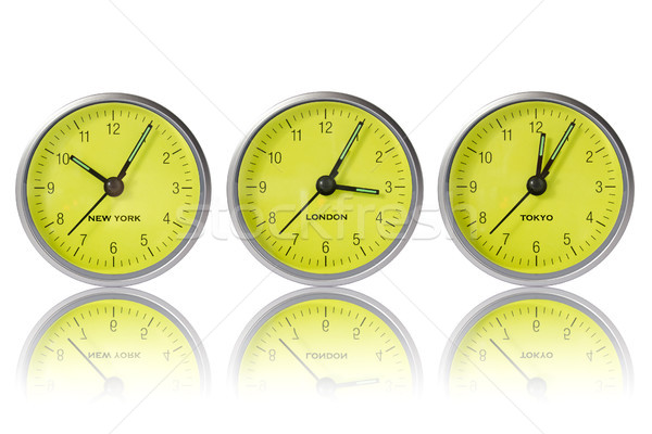 Time in New York, London and Tokyo Stock photo © Grazvydas
