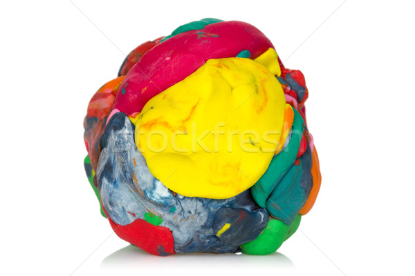Colorful modeling clay Stock photo © Grazvydas