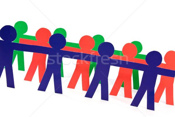 люди группа команде бизнеса компания человека Сток-фото © Grazvydas