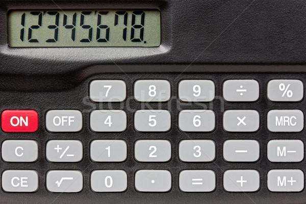 Digital keypad background Stock photo © Grazvydas
