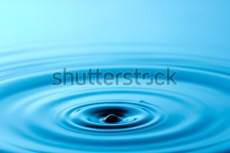 circles on the blue water  Stock photo © Grazvydas